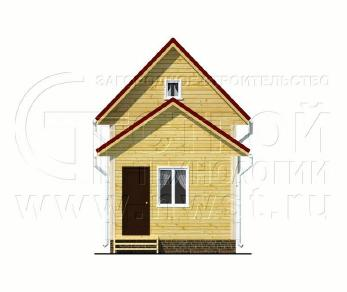 Проект дома Проект дома №49, 28 м2