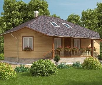 Проект дома AS-2009-2, 119 м2