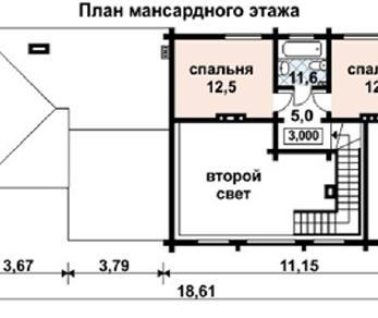 Проект дома AS-2093, 179 м2