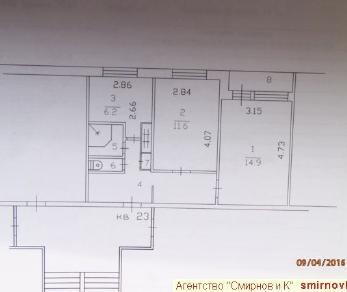 Продажа квартиры Колтуши, д.22