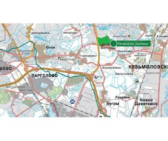 Продажа участка КП Охтинское раздолье, ул. Главная, 12А, 55