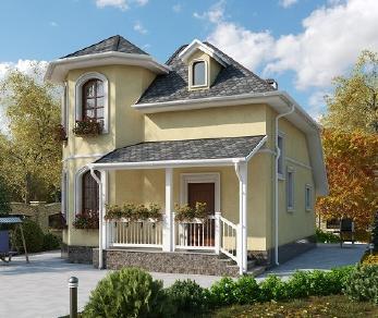 Проект дома AS-2226, 62 м2