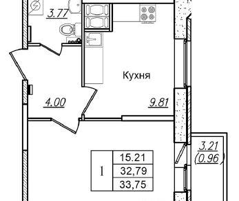 Продажа квартиры Колпино, Загородная ул., д.43