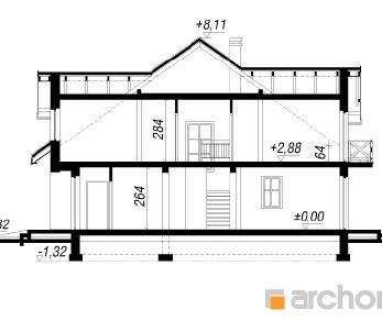 Проект  Дом в одуванчиках, 144.5 м2
