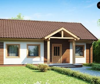 Проект дома Проект Z61, 92.4 м2