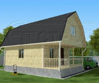 Проект дома Проект дома №85, 54 м2