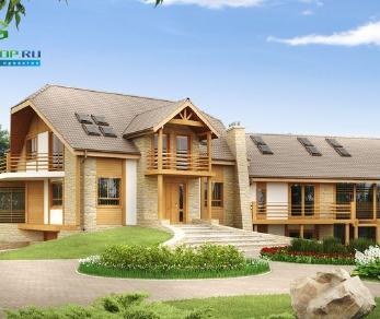 Проект дома Проект zr2, 477.6 м2