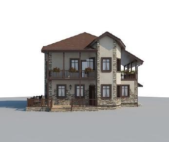 Проект дома AS-2248, 237 м2