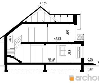 Проект  Дом в зорьках, 173.8 м2