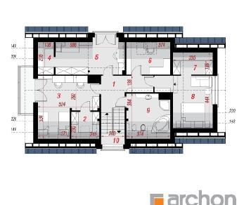 Проект  Дом в амариллисах 4, 191.2 м2