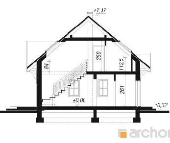Проект  Дом в бруснике 3, 120.2 м2