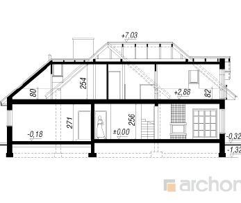 Проект  Дом в хабрах 2, 182.7 м2