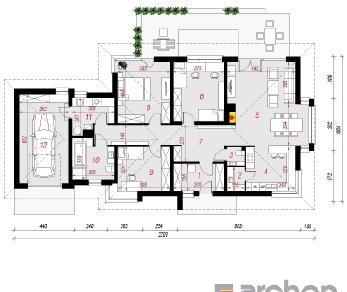 Проект  Дом под красной рябиной (ГН), 159.9 м2