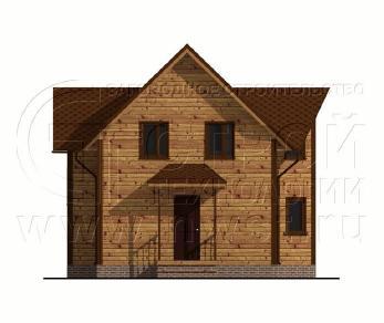 Проект дома Проект дома №107, 54.5 м2