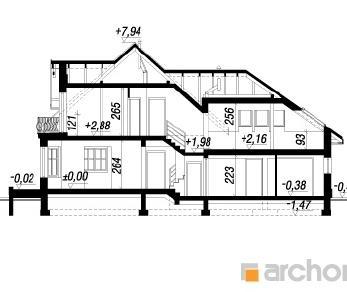 Проект  Дом в тамарисках 2-Г2, 195.3 м2
