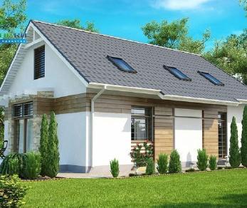 Проект дома Проект z113, 147.3 м2