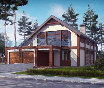 Проект дома Проект zx50, 205.7 м2