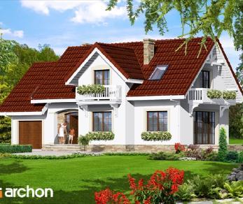 Проект  Дом в лобелиях 2, 144.2 м2