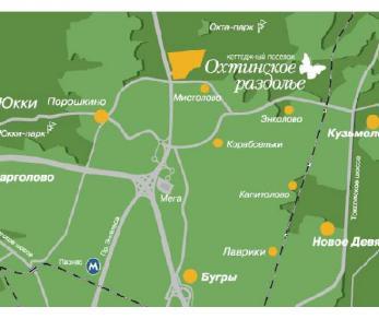 Продажа участка КП Охтинское раздолье, ул. Мирная, 3, 2