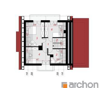 Проект  Дом в рододендронах 4 (Н), 127.9 м2