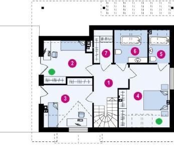 Проект дома Проект z179, 177.5 м2