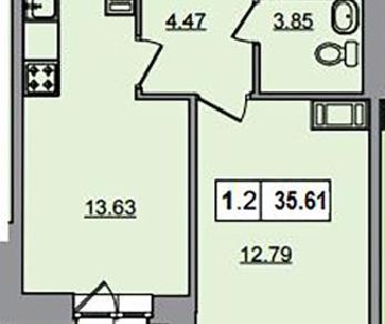 Продажа квартиры Мурино, Шоссе в Лаврики ул., д.74к1