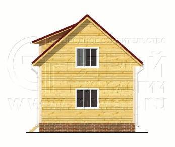 Проект дома Проект дома №80, 42 м2