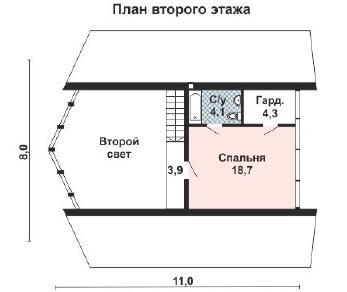 Проект дома AS-2168, 106 м2