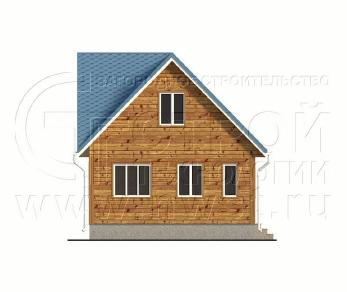 Проект дома Проект дома №100, 66 м2