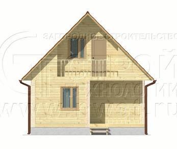 Проект дома Проект дома №33, 48 м2