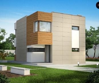Проект дома Проект Zx51, 102 м2