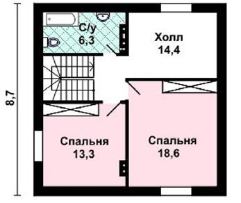 Проект дома AS-2203, 143 м2