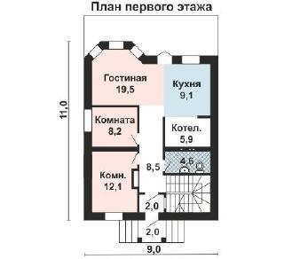 Проект дома AS-2190, 153 м2
