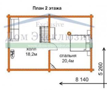 Проект  Проект Б-87, 87 м2