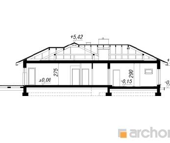 Проект  Дом в амаранте 2, 211.48 м2