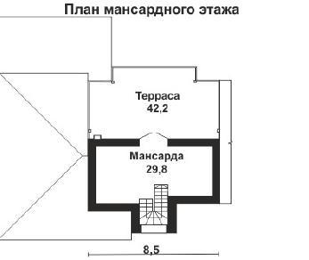 Проект дома AS-2124, 250 м2