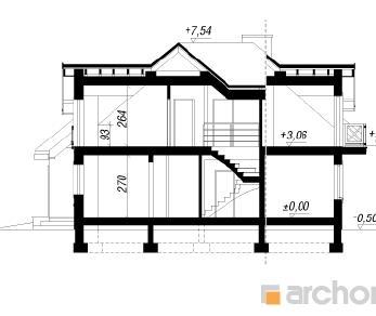 Проект  Дом в хабрах, 166.67 м2