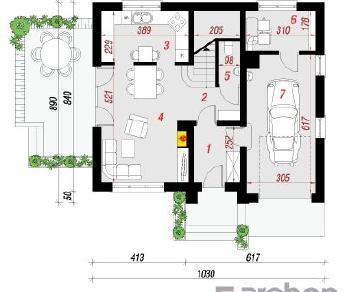 Проект  Дом в люцерне 4, 117.38 м2