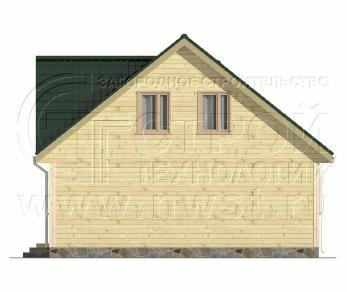 Проект дома Проект дома №25, 48 м2