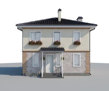 Проект дома AS-2078, 131 м2