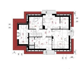 Проект  Дом в левкоях (П), 275.9 м2