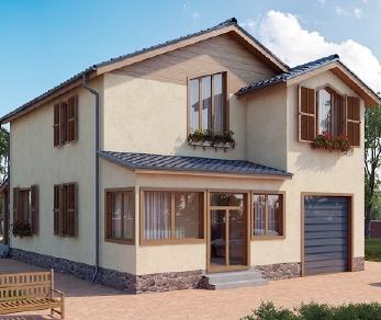 Проект дома AS-2026, 161 м2