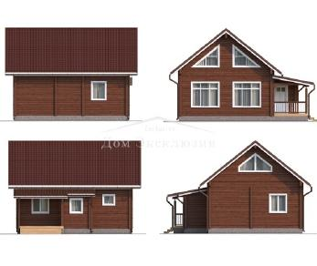 Проект дома Проект ДН-132, 108.6 м2