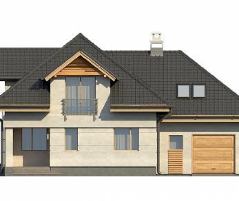 Проект дома Проект Z284, 189.5 м2
