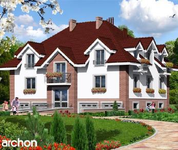 Проект  Дом у бульвара, 435.9 м2