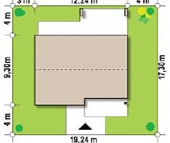 Проект дома Проект Z256, 86.9 м2