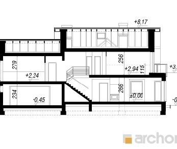 Проект  Дом в рододендронах 6 (Г2А), 214.36 м2