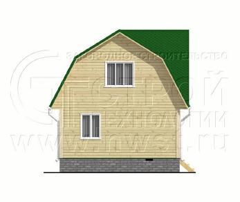 Проект дома Проект дома №93, 48 м2