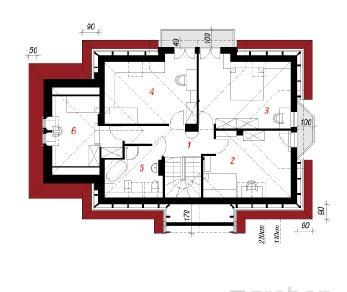 Проект  Дом в магнолиях, 163.4 м2