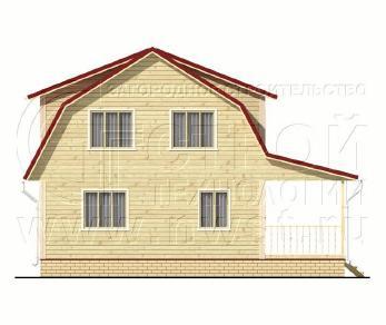 Проект дома Проект дома №86, 57 м2
